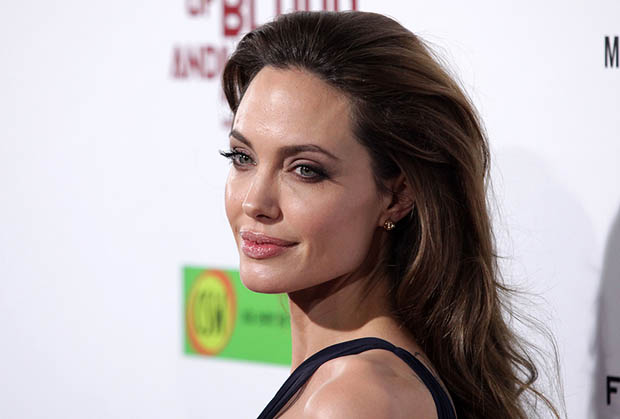 "LOS ANGELES - DEC 8: Angelina Jolie ""In The Land of Blood and H"