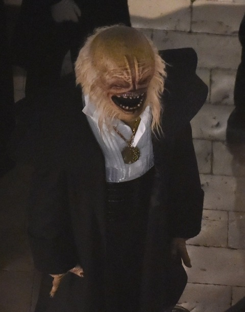 Star Wars Episode VIII filming in Dubrovnik, Dramatic scenes on set as a land speeder is seen exploding in to bits, new characters and aliens are seen for the first time on set. Photos taken on March 13th 2016 Ref: SPL1245610 140316 Picture by: NW / Splash News Splash News and Pictures Los Angeles: 310-821-2666 New York: 212-619-2666 London: 870-934-2666 photodesk@splashnews.com