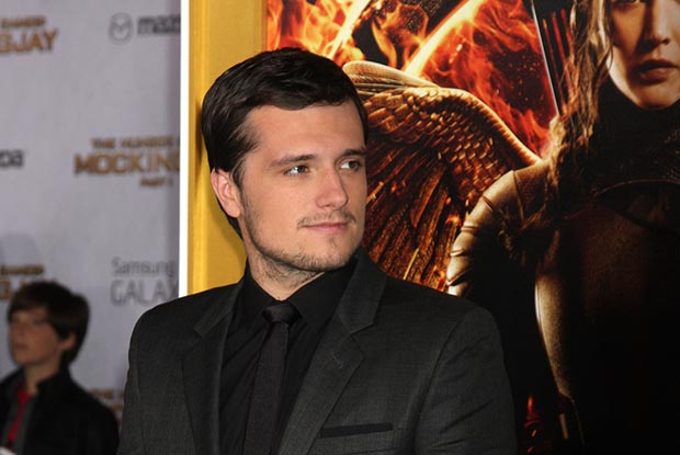 LOS ANGELES - NOV 17: Josh Hutcherson at the The Hunger Games: Mockingjay Part 1 Premiere at the Nokia Theater on November 17, 2014 in Los Angeles, CA