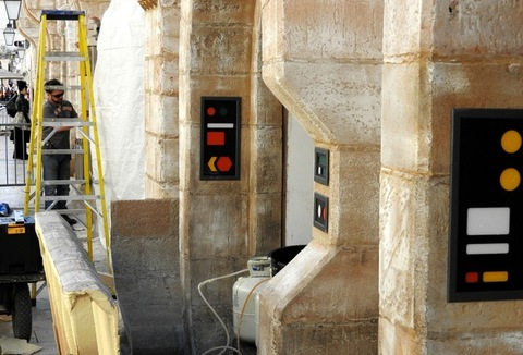 Final preparations for the filming of Star Wars: Episode VIII in Dubrovnik, Croatia. The shooting takes place at some of the city's most beautiful locations, such as the City Walls, the Banje beach, the Old Port and the Rector's Palace. Featuring: Atmosphere Where: Dubrovnik, Croatia When: 09 Mar 2016 Credit: WENN.com **Only available for publication in UK, USA, Germany, Austria, Switzerland**